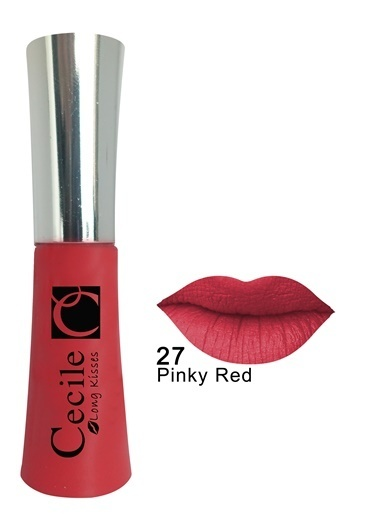 Cecile Long Kisses Lipgloss  27 Pembe